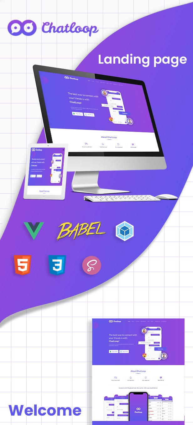 Chatloop---Vue-JS-App-Landi