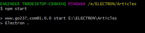 Electron JS   Adding keyboard shortcuts (1)