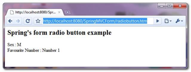 SpringMVC-RadioButton-Example-3