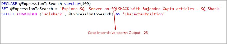 SQL Server CASE statement