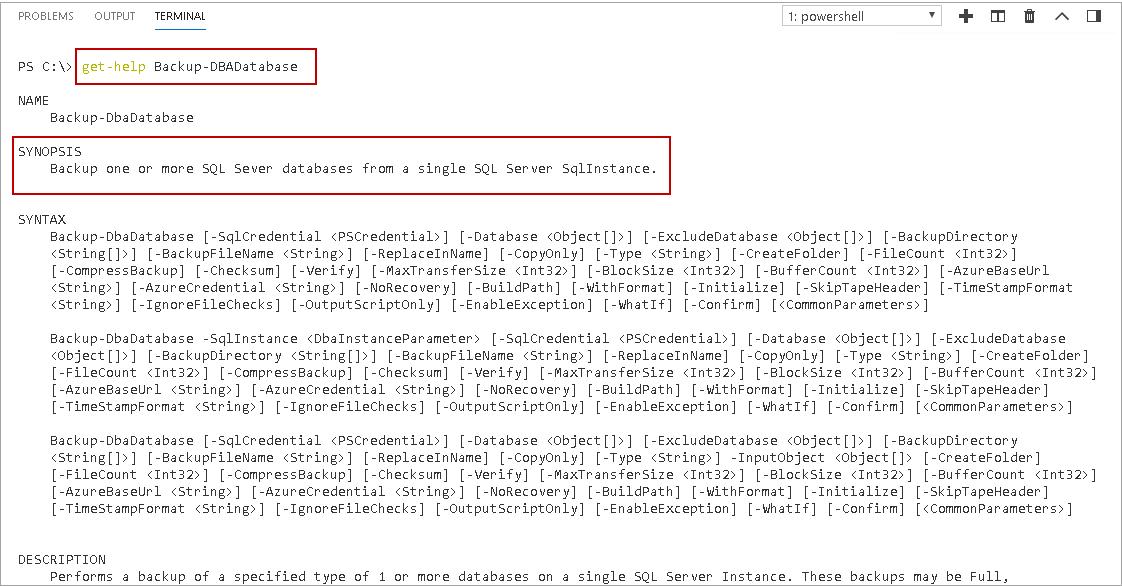 Backup SQL database - Take database backup using DBATools