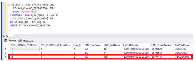 SQL Server Audit - CT data after UPDATE