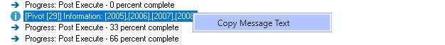 Copy message text