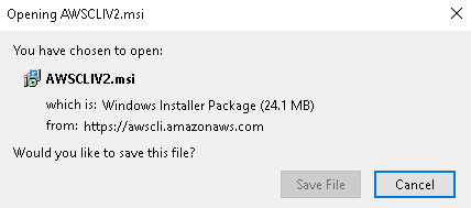 Download AWS CLI