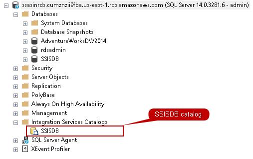 SSISDB catalog