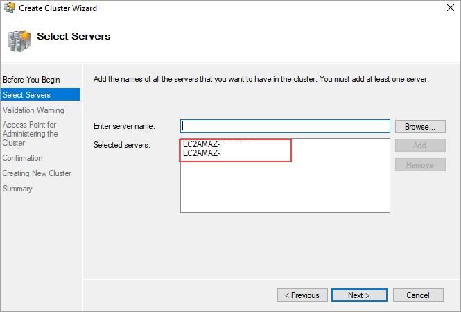 Adding nodes to wfcs