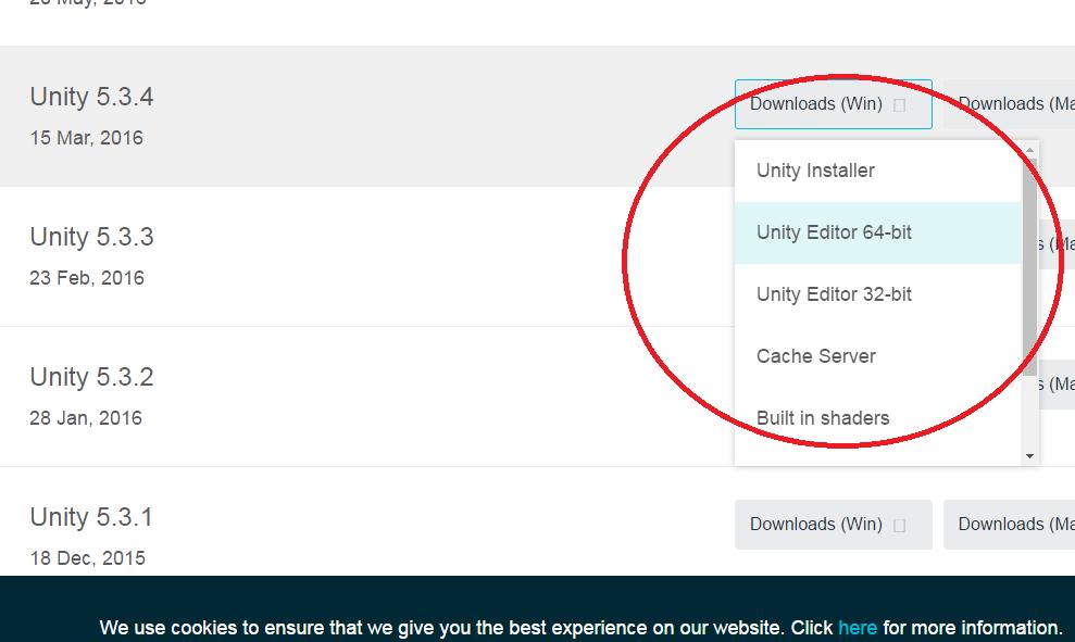 Installing Unity3D Game Engine on Windows