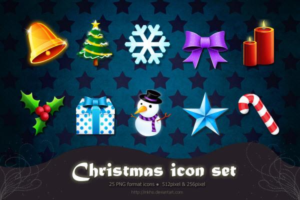 圣诞节图标集