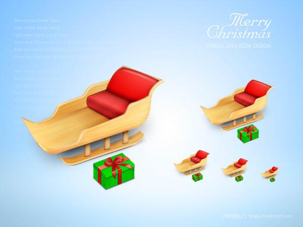 圣诞老人的椅子
