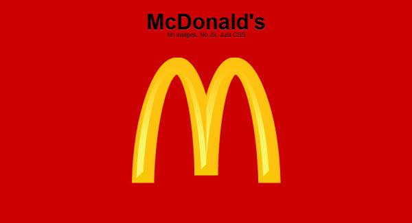 麦当劳徽标