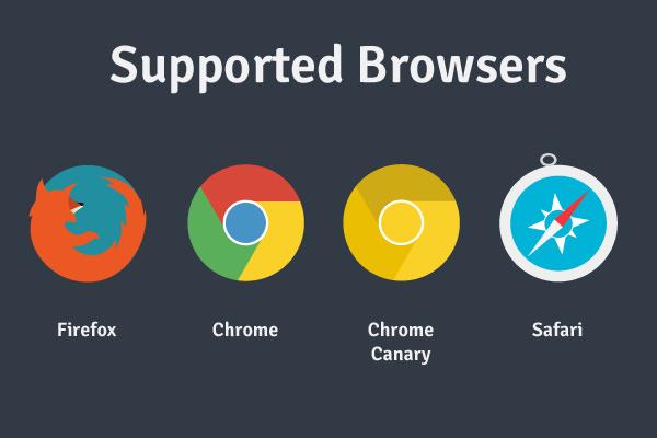 平面图标免费赠品Web浏览器Firefox
