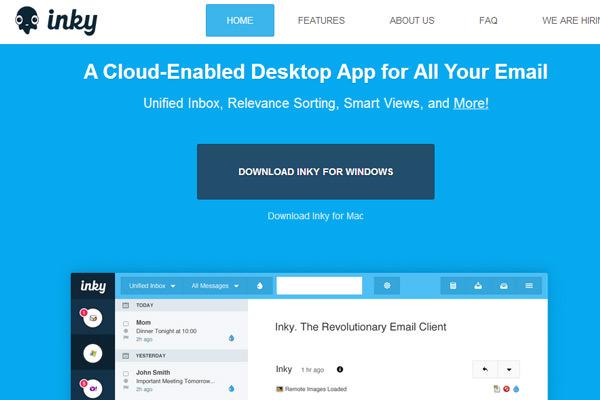 云桌面应用程序漆黑的平面网站布局