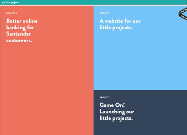 小项目首页平面地铁网站布局