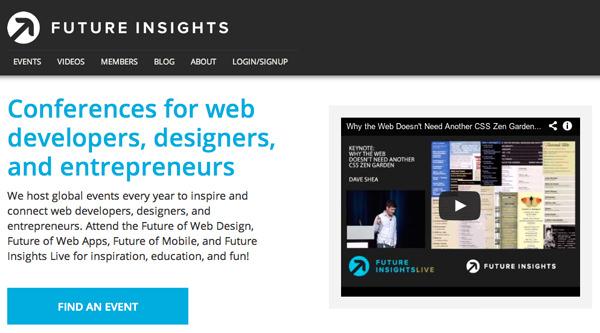 网站设计创业公司大会futureinsights平面布局