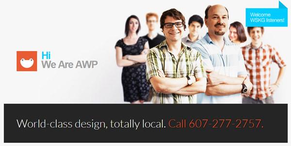 AWP伊萨卡纽约设计机构平面网站