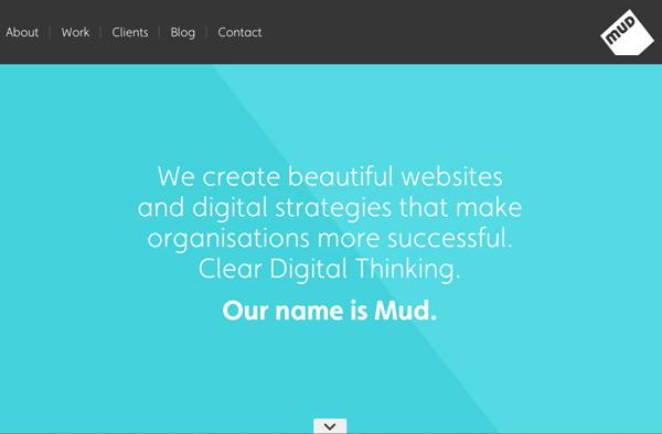 数字设计公司,我们是泥主页