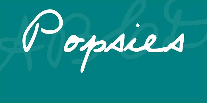 Popsies字体