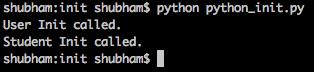 python init super class inheritance