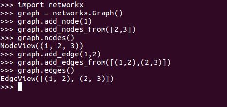 networkx graph add edges