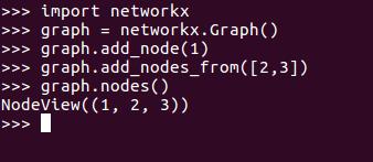 networkx graph add nodes