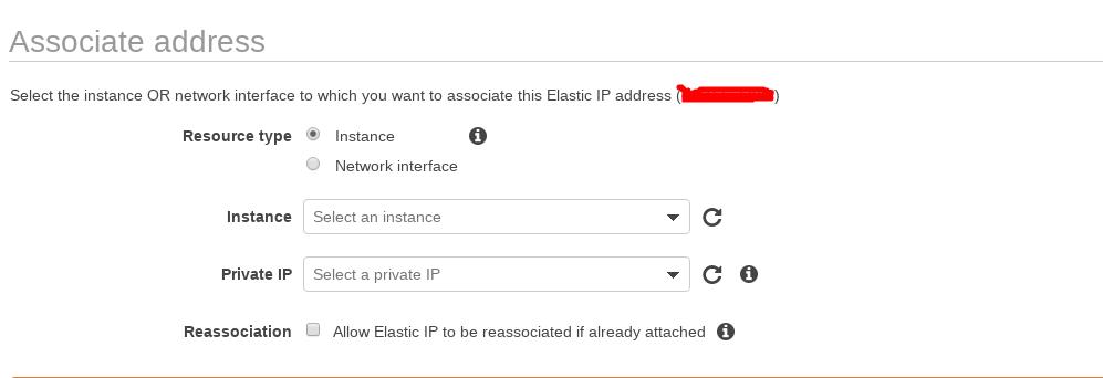 Associate Elastic Ip
