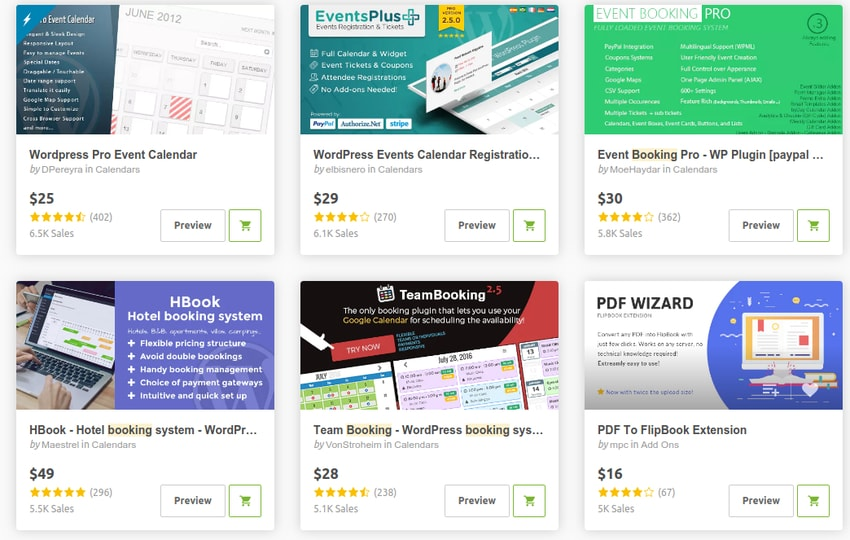 WordPress预订和预订插件
