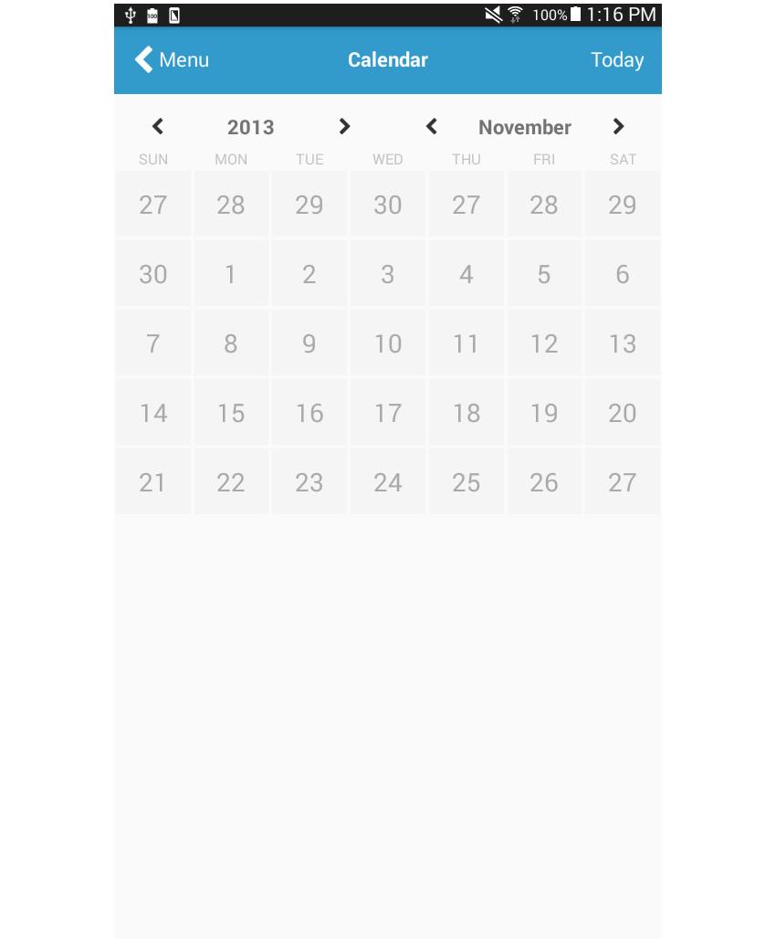 日历页面添加日历天样式