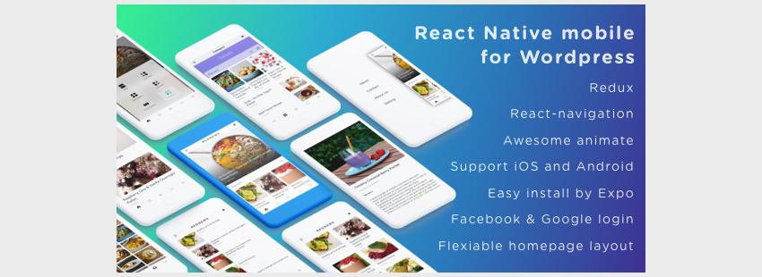 BeoNews ProReact Native Mobile App for WordPress
