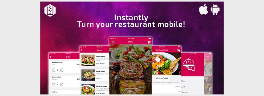 Restaurant App TemplateReact Native
