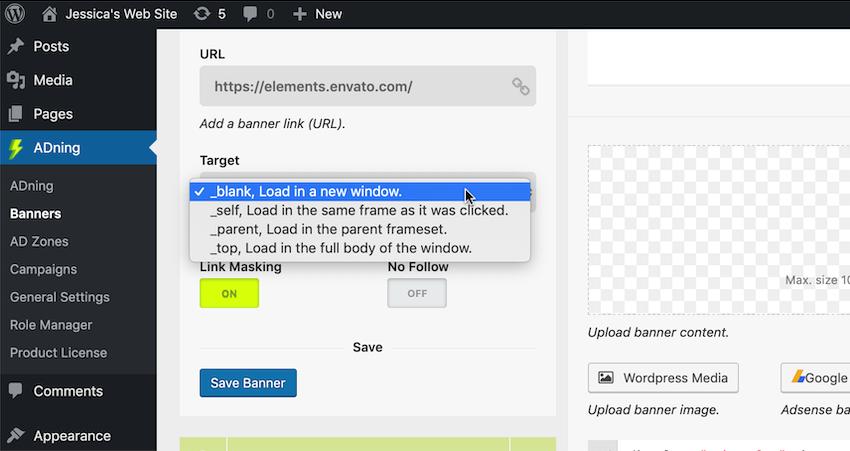 指定嵌入式URL的加载位置