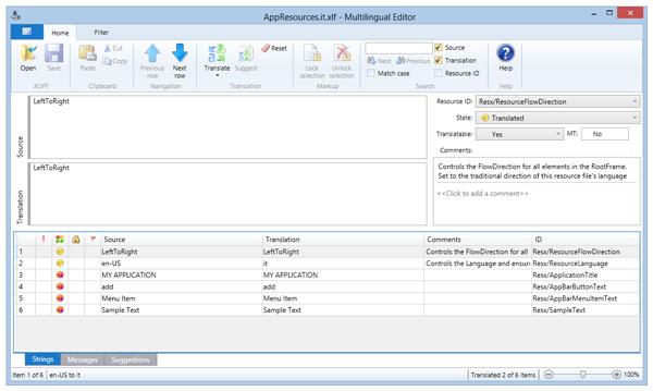 多语言应用程序工具包