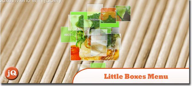 小盒子菜单