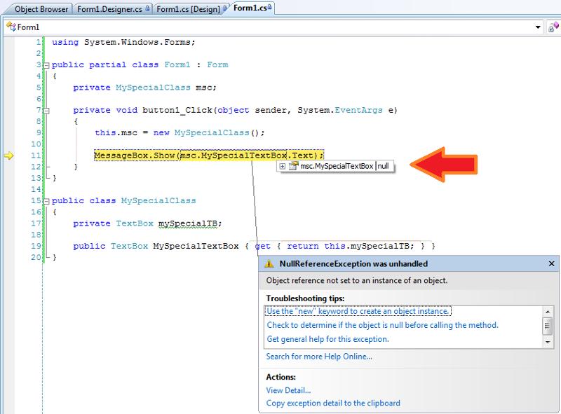 Debugger Display - C#