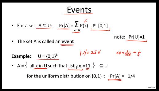 事件的定义
