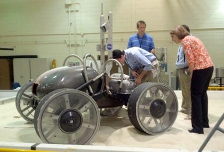 Scarab rover
