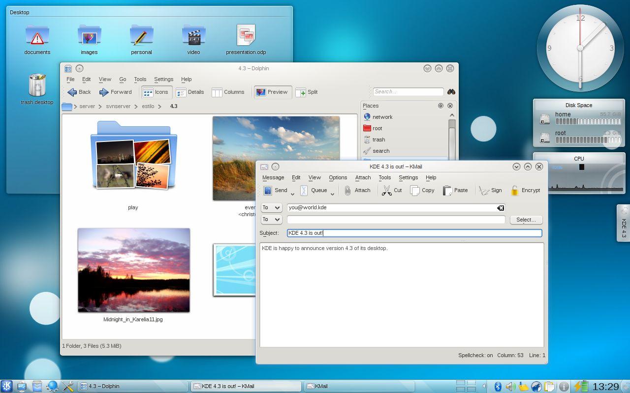 Linux KDE桌面环境