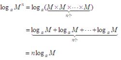 对数基本性质4推导过程