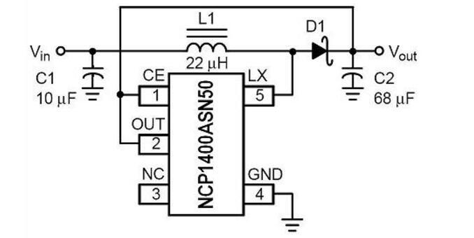 NCP1400ASN50电路
