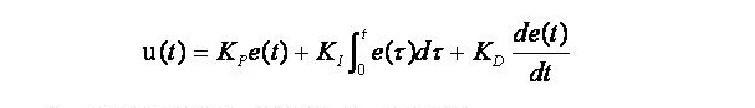 pid的数学模型