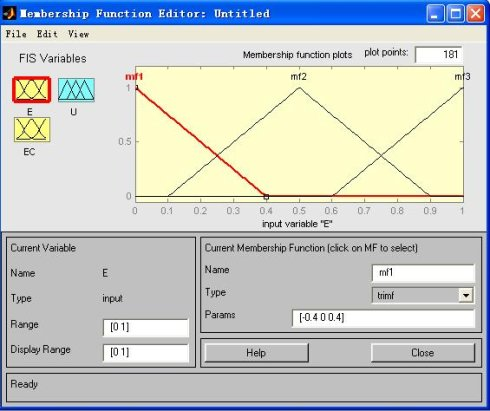 4步教你学会使用matlab模糊控制工具箱