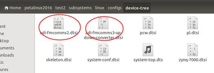 将dtsi文件添加到工程目录中