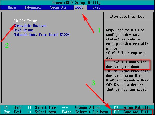 设置BIOS用光盘启动