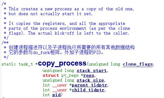 copy_process()
