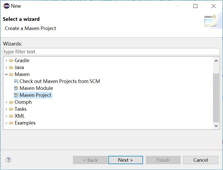 新建Maven项目