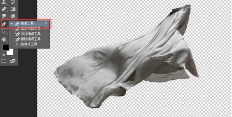 如何在ps中添加图片上的塑料布效果