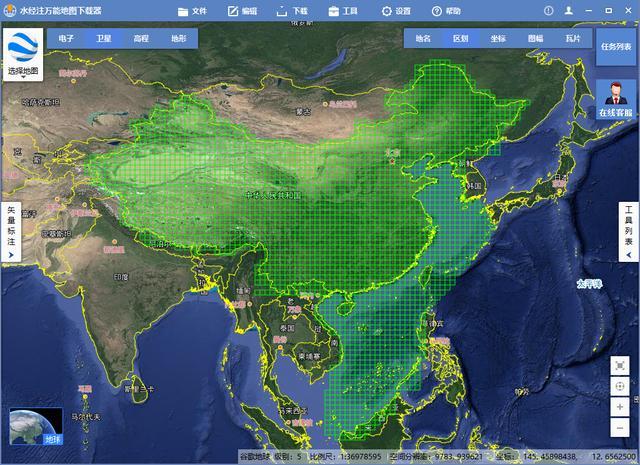 怎么验证全国离线卫星地图缓存文件的完整性