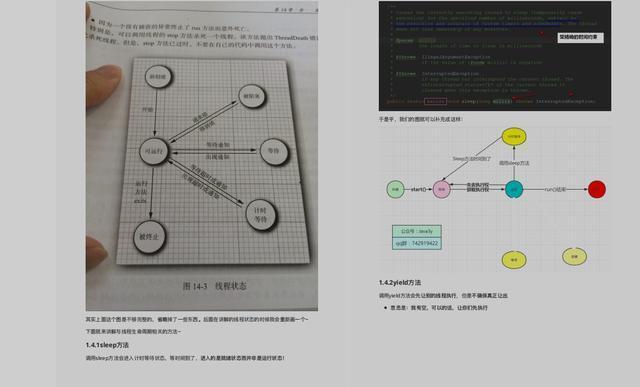 Java多线程知识点总结(思维导图+源码笔记),已整理成PDF版文档