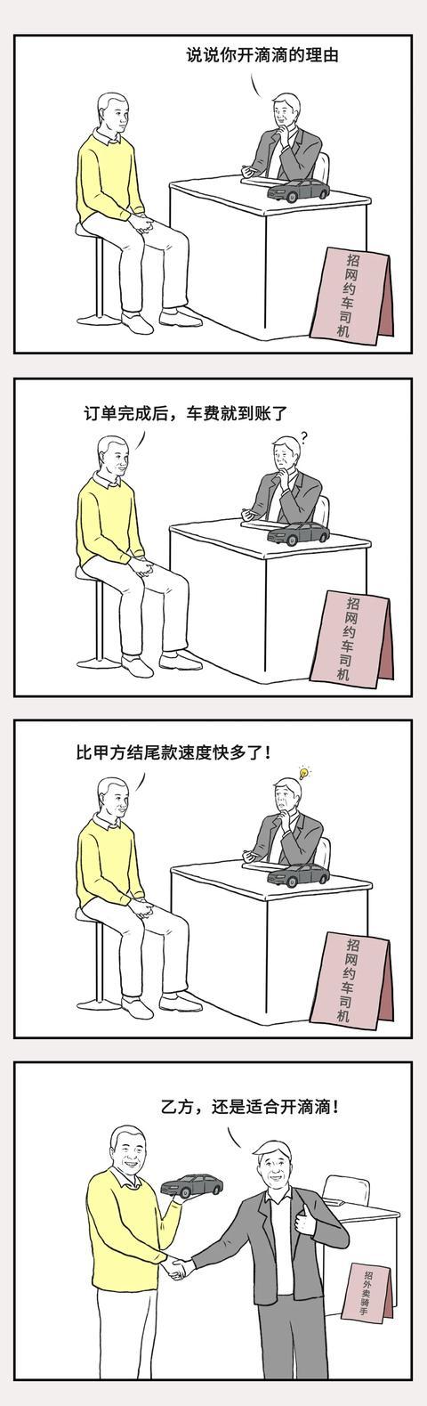 老板说,互联网人,有送外卖的天赋