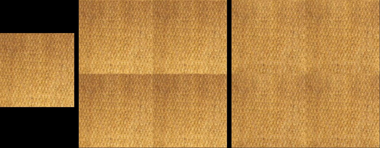 Seamless tiling