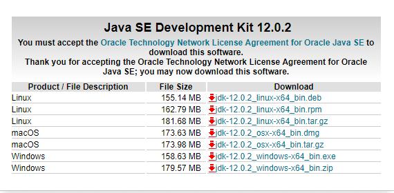 JDK 下载